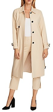 Vince Camuto Double Weave Long Coat