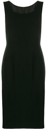 Dolce & Gabbana Cady Fitted Dress