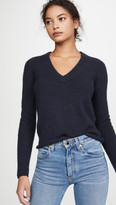 James Perse Luxe Cashmere V Neck