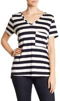 Tart Belita Striped V-Neck Tee