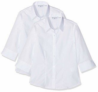 Trutex Girl's NSF-WHT School Top