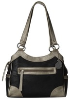 American West Guns and Roses 3-Compartment Tote Tote Handbags