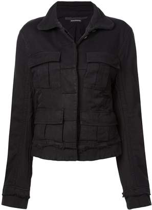 Haider Ackermann basic short jacket