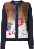 Salvatore Ferragamo floral print cardigan - women - Silk/Cotton/Viscose - L