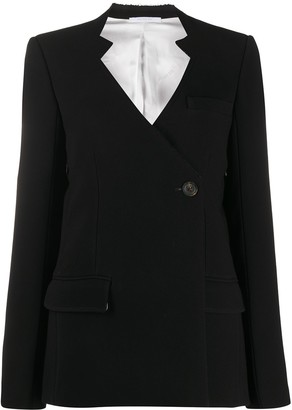 Peter Do Asymmetric Front Blazer