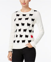 Charter Club Petite Sheep Graphic Sweater, Only at Macy's