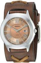 Nemesis Women's 099BFXB-P Roman Casual Series Faded X Analog Japanese Quartz Brown Patent Leather Watch