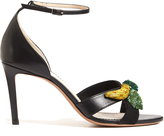 Altuzarra Bisbee fruit-embellished leather sandals