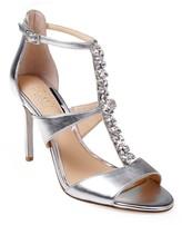 Badgley Mischka Mica Crystal Embellished Strappy Sandal