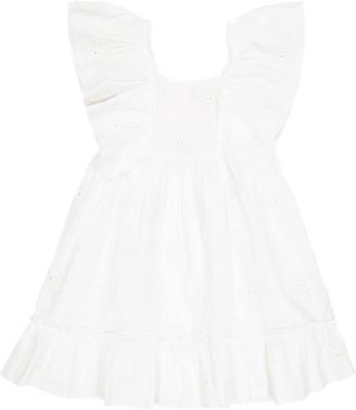 Tartine et Chocolat Eyelet cotton dress