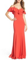 Jay Godfrey Women's Christie Cold-Shoulder Gown