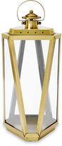 One Kings Lane 21.5 Lantern, Antiqued Gold
