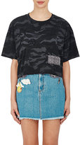 Marc Jacobs Women's Distressed Jersey Crop T-Shirt
