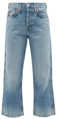 RE/DONE 90s Low Slung Jeans - Womens - Light Blue