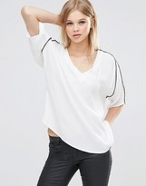 B.young Ilja Top With Arm Stripe