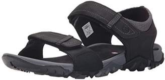 Merrell Telluride Strap, Men's Velcro Gladiator Sandals, Black, (44 EU)