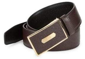 Dunhill Textured Leather Belt