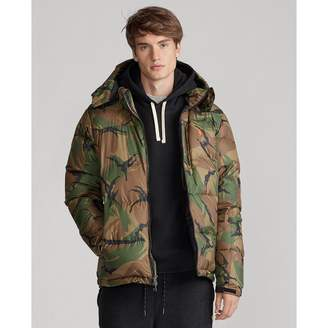 Ralph Lauren Camo Down Jacket