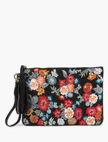 Lucky Brand Floral Embroidered Clutch