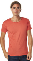 Silent Theory Basic Raw Edge Unisex Tee Red