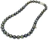 Mikimoto 18K White Gold Black South Sea Cultured Pearl Necklace
