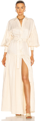 Auteur Bella Maxi Dress in Cream   FWRD