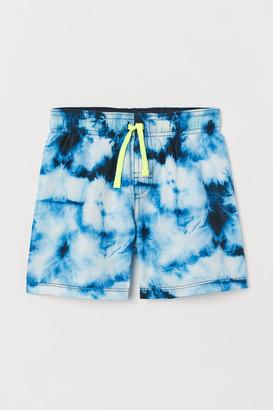 H&M Batik-patterned swim shorts