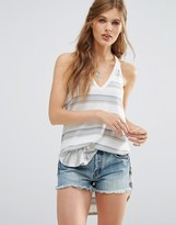 Free People Loui Striped Tunic Singlet