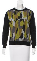 Torn By Ronny Kobo Printed Crew Neck Sweater