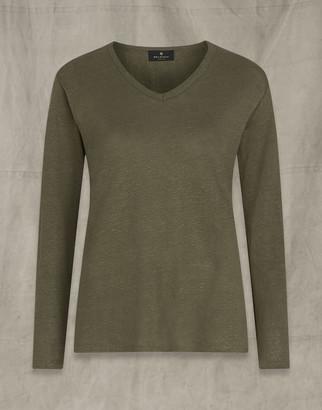 Belstaff Avery Long Sleeved T-Shirt