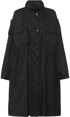 Prada Drawstring Oversized Rain Coat