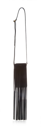 REE PROJECTS Do Fringed Leather Neck Pouch