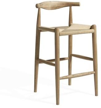 """Foundstoneâ""""¢ Allan Bar & Counter Stool Foundstonea Seat Height: Counter Stool (24.5"""" Seat Height), Finish: Natural Beech Wood"""