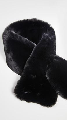 Adrienne Landau Faux Fur Scarf