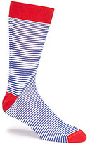 Daniel Cremieux Americana Striped Crew Dress Socks