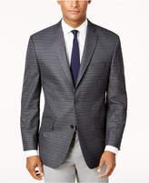 Michael Kors Men's Big & Tall Classic-Fit Gray Check Sport Coat