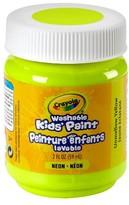 Crayola 2oz Washable Paints - Unmellow Yellow