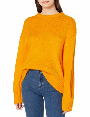 J.o.a. Women's Oversized Pullover Basic Casual Sweater