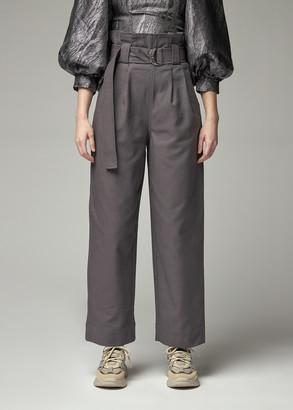 Ganni Women's Chino Pant in Phantom Size 34