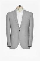 Slim Light Grey Suit Jacket