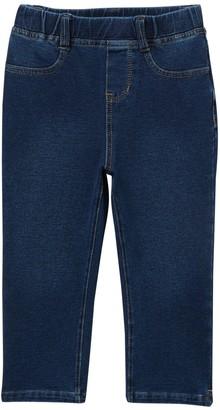 Flapdoodles Capri Knit Denim Pants (Little Girls)