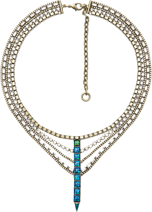 Lionette by Noa Sade Australia Necklace in Blue