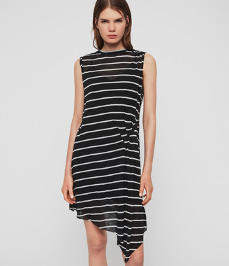 AllSaints Duma Stripe Dress