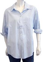 Elizabeth & James Laurent Shirt In Pale Blue