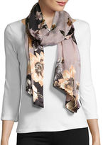 Collection 18 Floral Silk-Blend Scarf