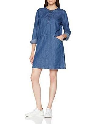 Fat Face Women's Rachel Shift Dress, Blue Denim, 8