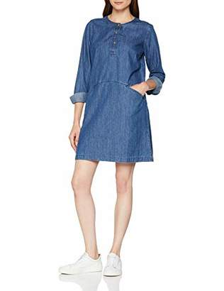 Fat Face Women's Rachel Shift Dress, Blue Denim