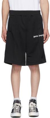 Palm Angels Black Classic Track Shorts