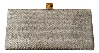 Jimmy Choo Celeste Metallic Glitter Clutch bags