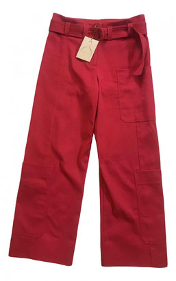 Stine Goya Pink Cotton Trousers for Women